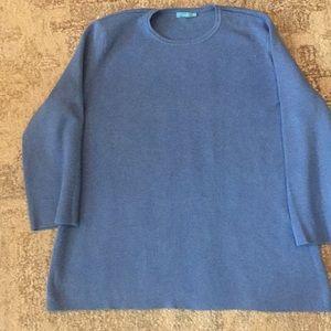 J McLaughlin Blue Sweater